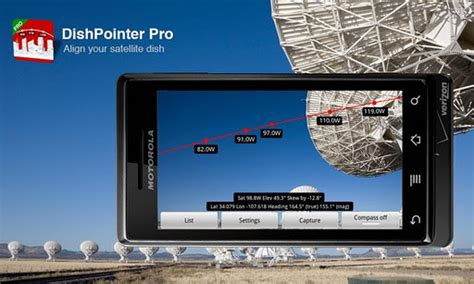 DishPointer Pro for Android - Free Download