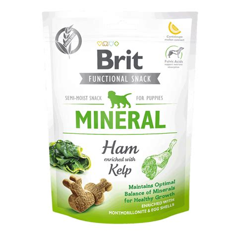 Brit Care Dog Snack Mineral Ham for Puppies - BarkKing