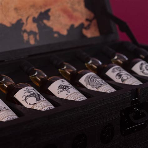 Game of Thrones 8 Bottle Whisky Collection Plus Collectors