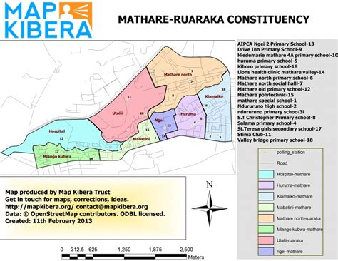 Election Maps for the Slums of Nairobi