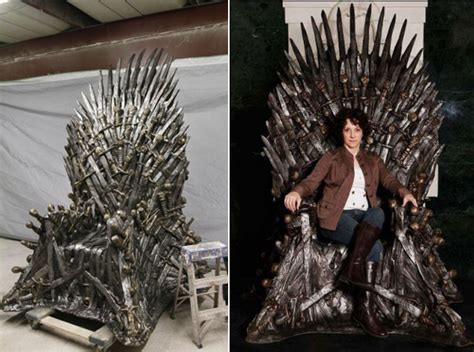 HBO Selling $30,000 Game Of Thrones Throne Replica