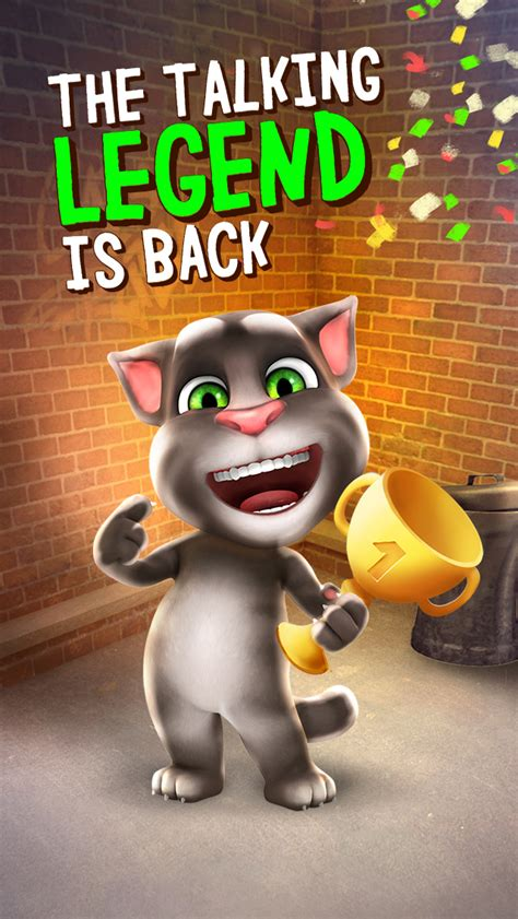 PocketFullOfApps | 'Talking Tom Cat' Gets Graphical