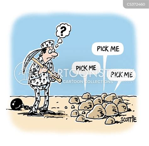 Breaking Rocks Cartoons and Comics - funny pictures from