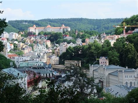Spas, wafers and films in Karlovy Vary, Czech Republic