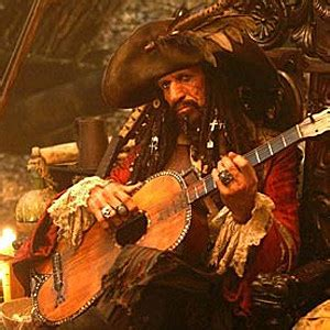 Keith Richards in 'Pirates of the Caribbean: At World's