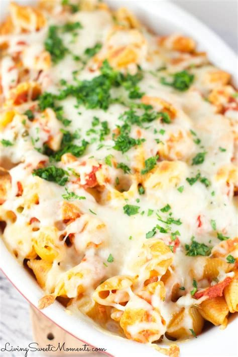 Cheesy Chicken Casserole - Living Sweet Moments