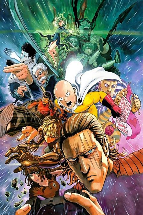 One Punch Man Characters Poster | Uncle Poster