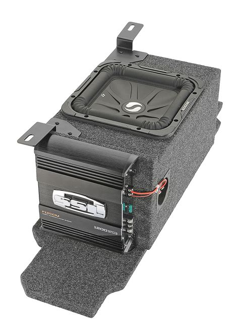 """Custom Rear Subwoofer Kit with 10"""" Kicker Solo-Baric L3"""