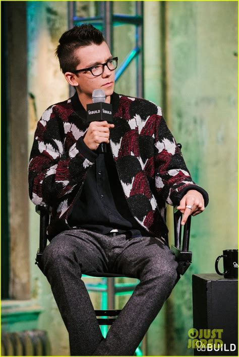 Asa Butterfield Interview at AOL HQ in NYC for BUILD