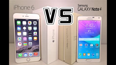 iPhone 6 Plus VS Samsung Galaxy Note 4 - Ultimate Full