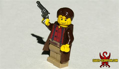 Minifig: Space Cowboy Character (choose one) – Saber