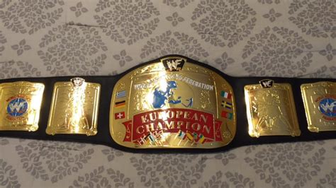BELT REVIEW - WWF European Championship Replica from A&J's