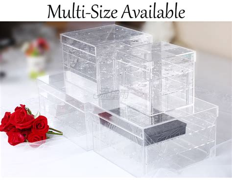 Wholesale Transparent Acrylic Display Gift Box, Clear