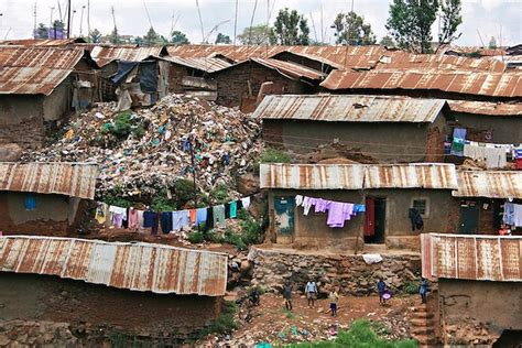 kibera_photoshow01 | A view of some houses in the Kibera