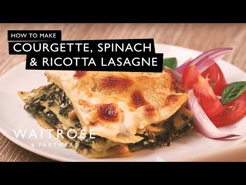 Lasagne with Homemade Ricotta Cheese – Food Fusion