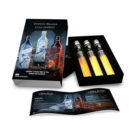 Game Of Thrones Johnnie Walker Tasting Collection