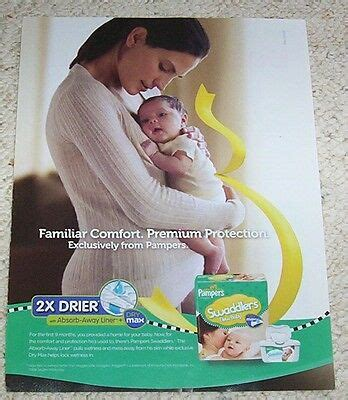 2010 print ad page - Pampers Swaddlers Newborn Baby