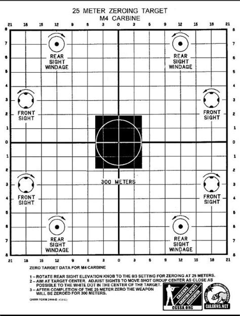 Rifle sight adjustment in target practice | Rifles