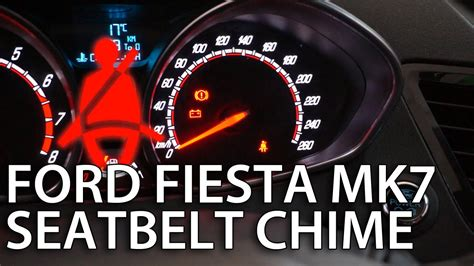 How to disable Ford Fiesta MK7 seat belt chime (deactivate