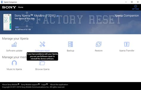 How To Factory Reset Your Sony Xperia XA2 Ultra - Factory
