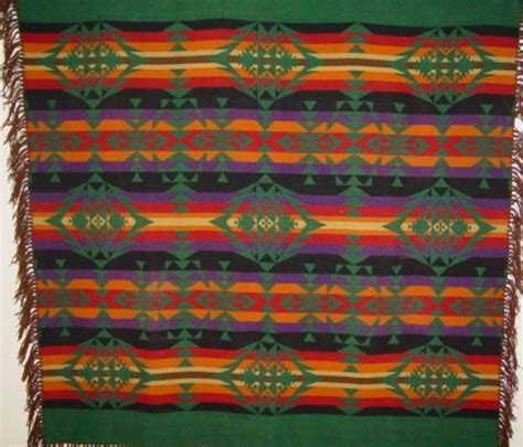 Cayuse Indian Trade Blanket by Pendleton1930-40's SOLD