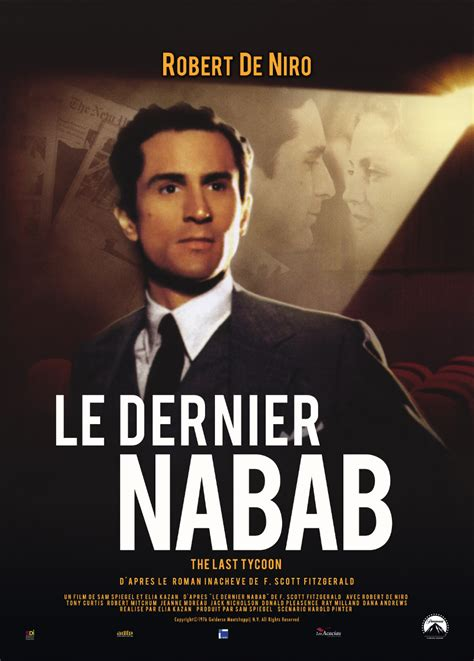 Jaquette/Covers Le Dernier nabab (The Last tycoon)