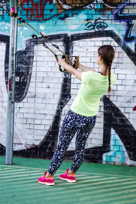 TRX Upper Body Exercises for slim, defined arms and a
