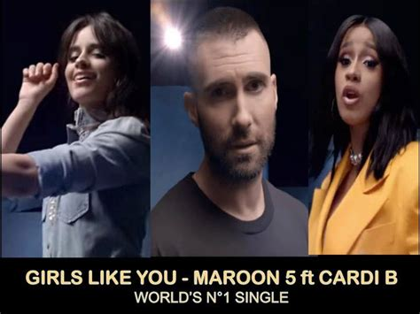 """World Music Awards :: """"Girls Like You"""" by Maroon 5 feat"""