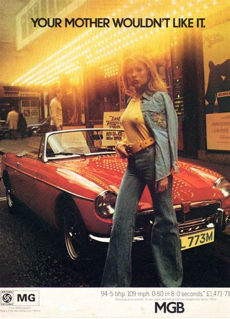 Your Mother Wouldn't Like It   1967 MGB GT