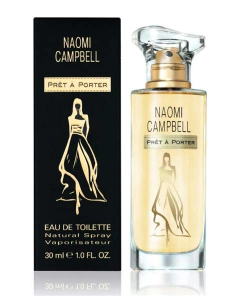 Pret a Porter Naomi Campbell perfume - a new fragrance for