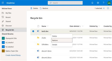 How to Recover Permanently Deleted OneDrive Files
